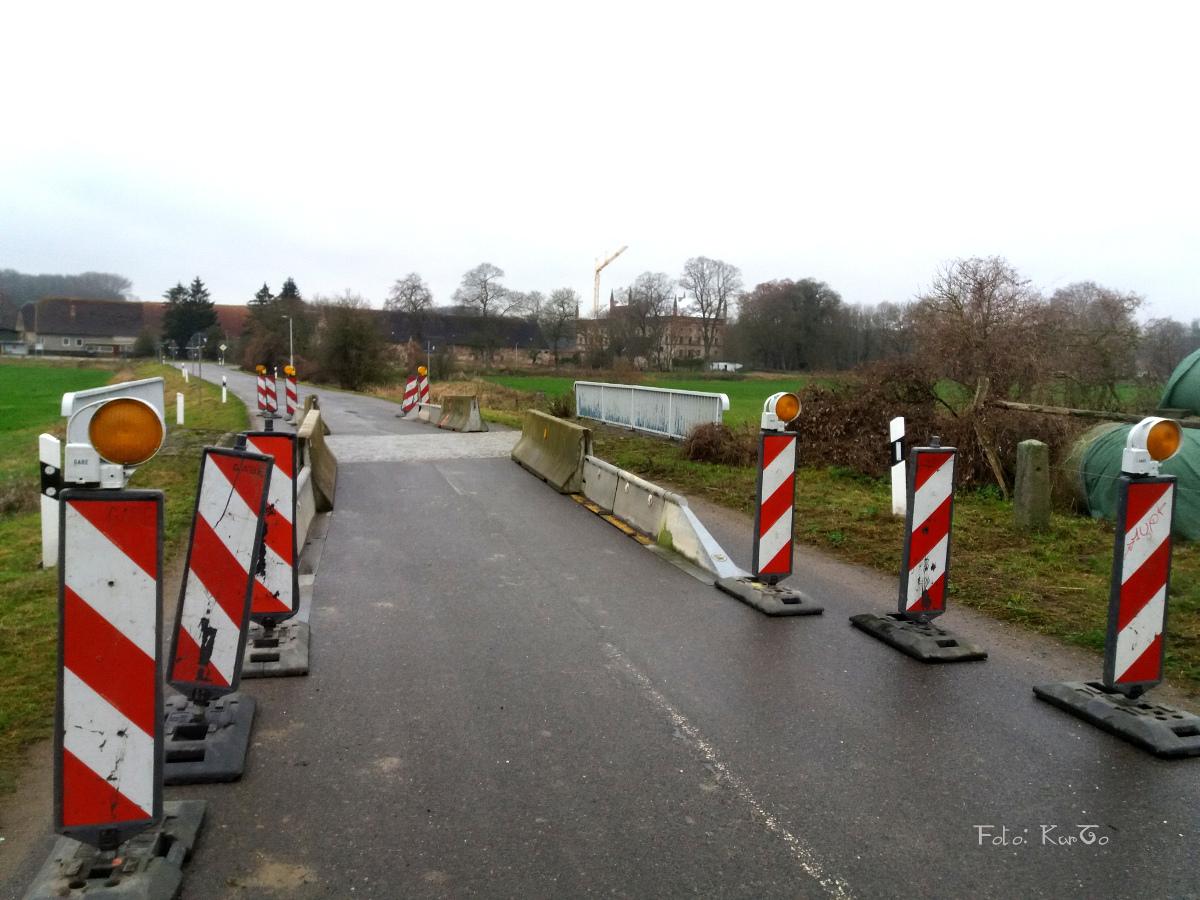 Broocker Flutbrücke Einschränkung bis Frühjahr 2020, dann Vollsperrung